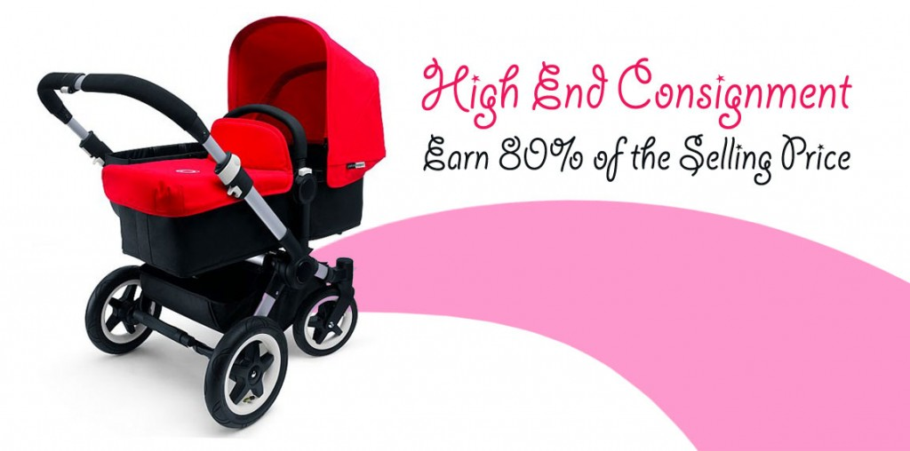 High End Consignment of Baby Gear